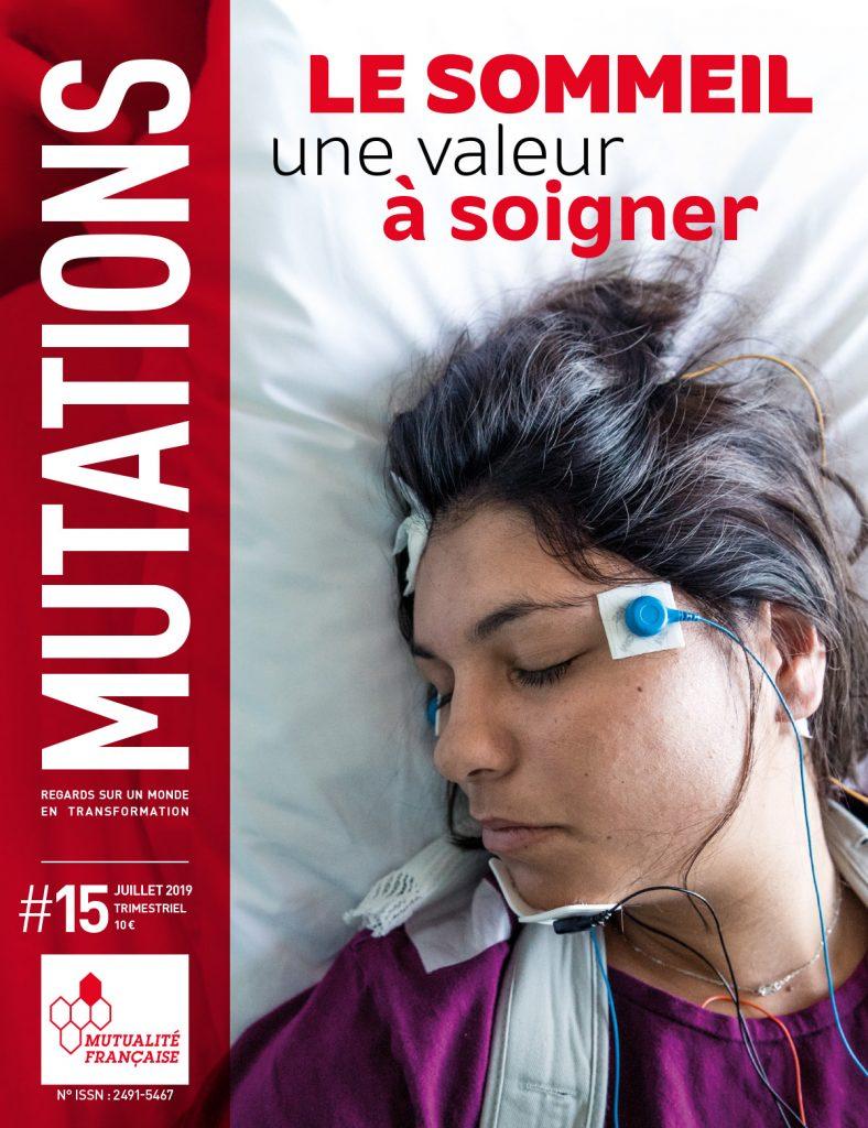 Mutations #15 : Une du magazine sur le sommeil.