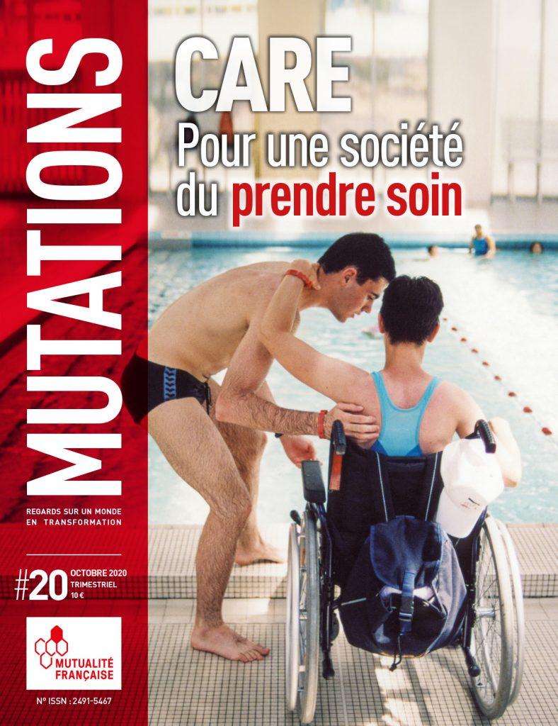 Mutations #20 : Une du magazine sur le care.