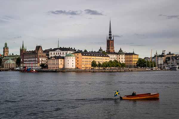 Panorama de Stockholm (Suède)