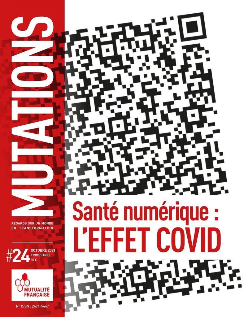 Mutations #24 : une du magazine sur la santé numérique